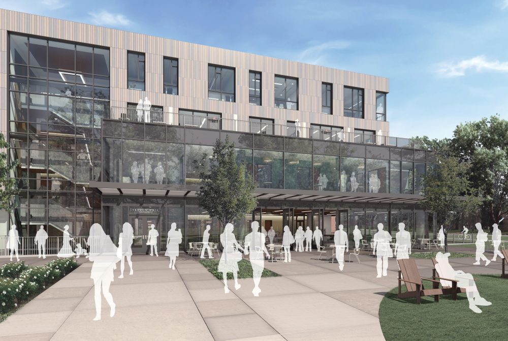 07 - OFFICE 52 Architecture - UO Tykeson Hall - West Rendering