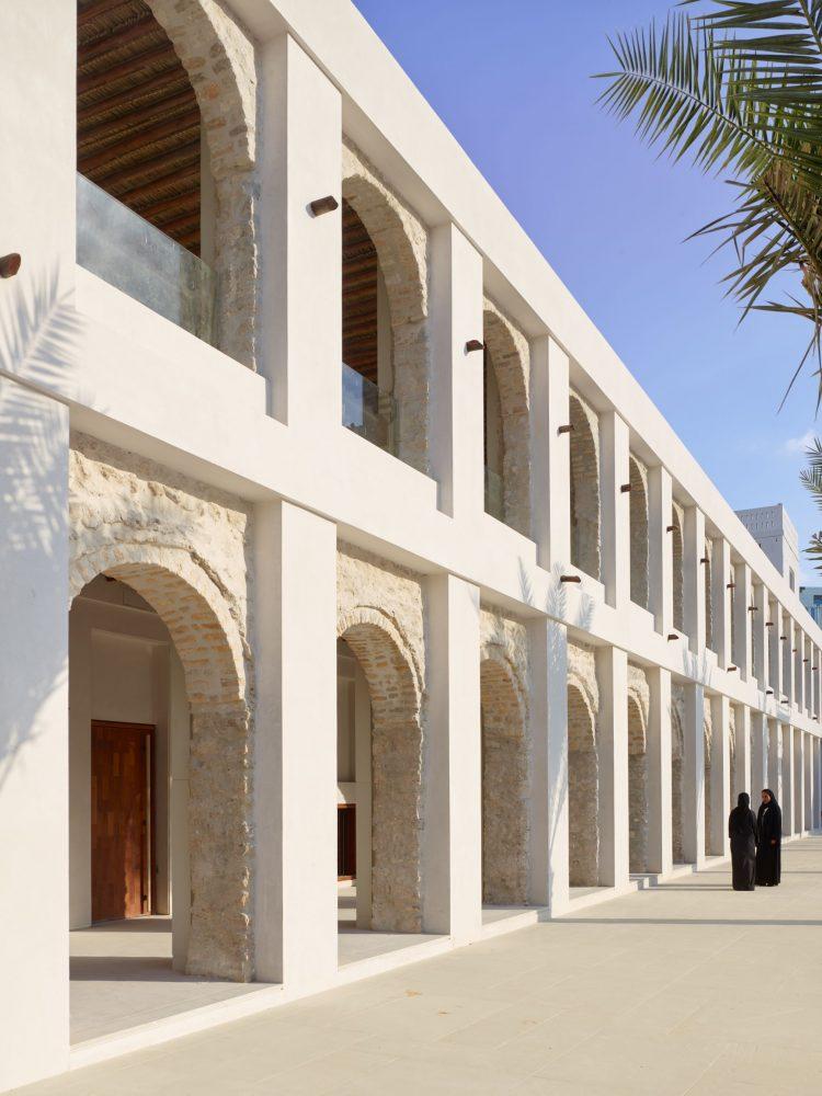 12. View of Qasr al Hosn arcades