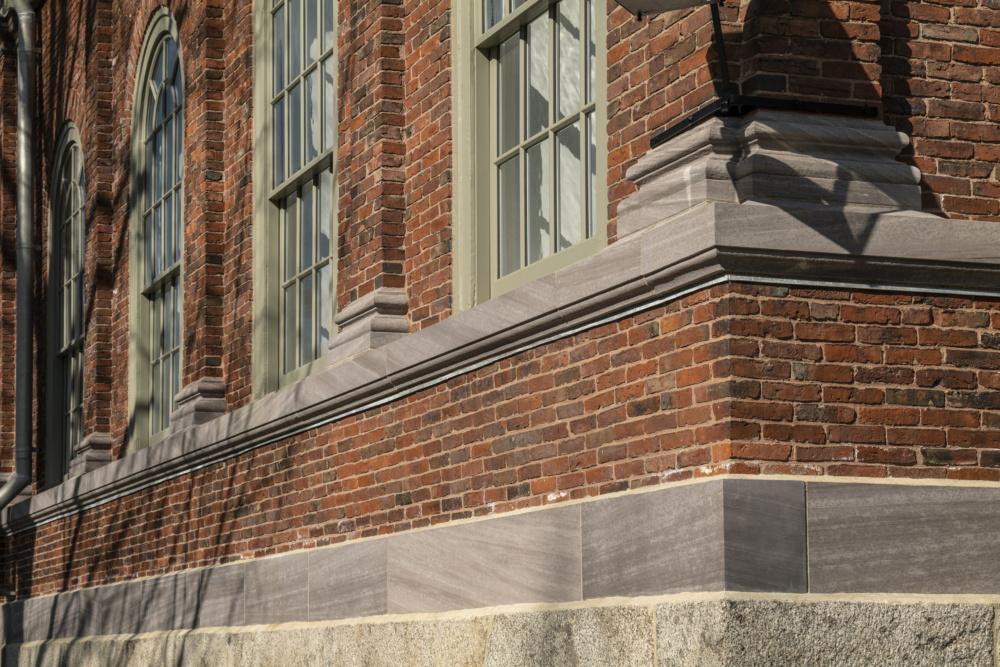Harvard Hall,  Cambridge, Bruner Cott