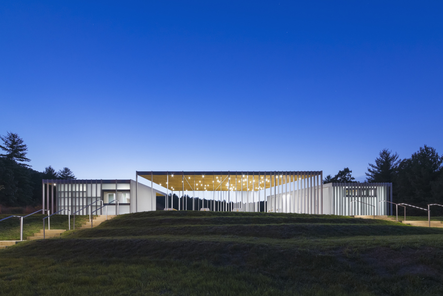Ephemeral Field House by design/buildLAB