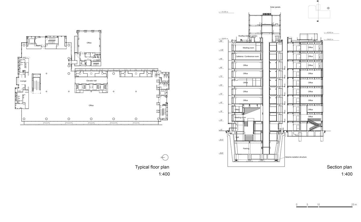 YKK80_Pamphlet_Ken_ichi_Suzuki_YKK80-typicalplan_sectionplan