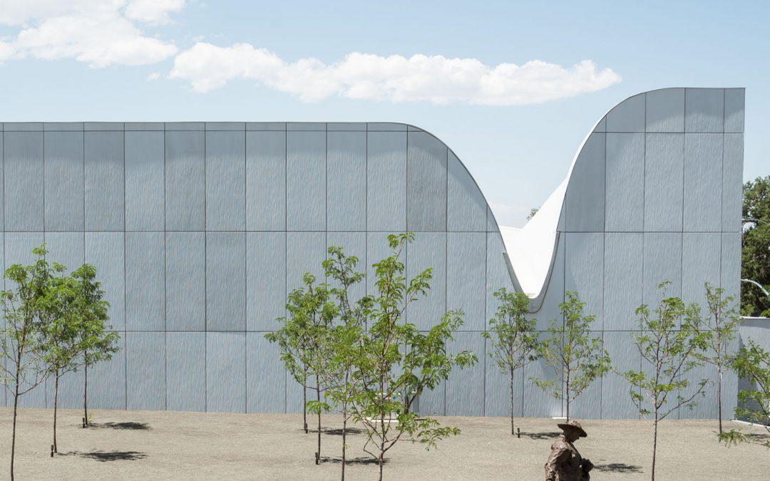 Precast concrete and plaster find coherence in Southern Utah Museum of Art