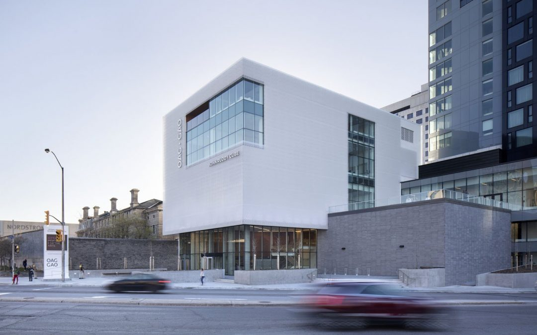 The new Ottawa Art Gallery dissolves into the sky with clever detailing