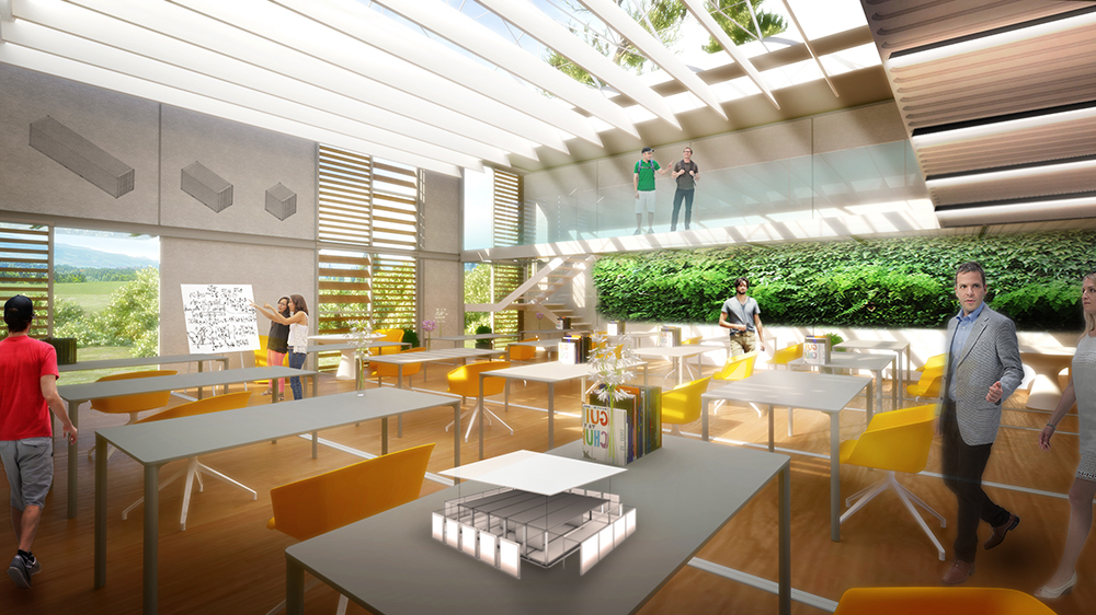 Innovation Center - Interior