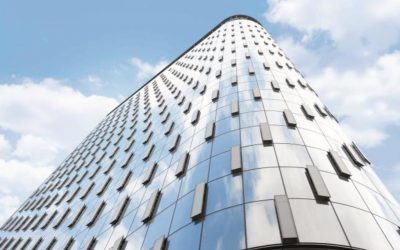 Glass, curtain walls, and glazing offer increased visibility