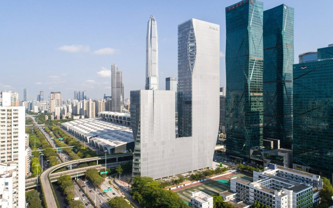 BIG's Shenzhen International Energy Mansion looks better than the renderings