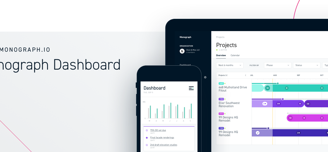 San Francisco-based Monograph promises architects a seamless project-planning platform