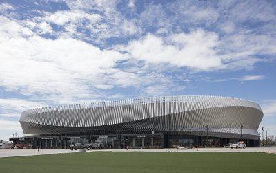 SHoP Architects brings aluminum luster to Nassau Veterans Memorial Coliseum