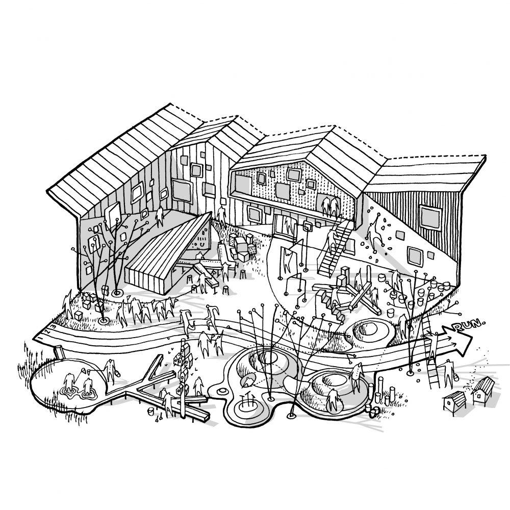 Sketch_Skovbakke_School
