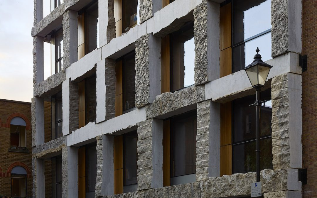 Limestone load-bearing exoskeleton spawns outrage in London