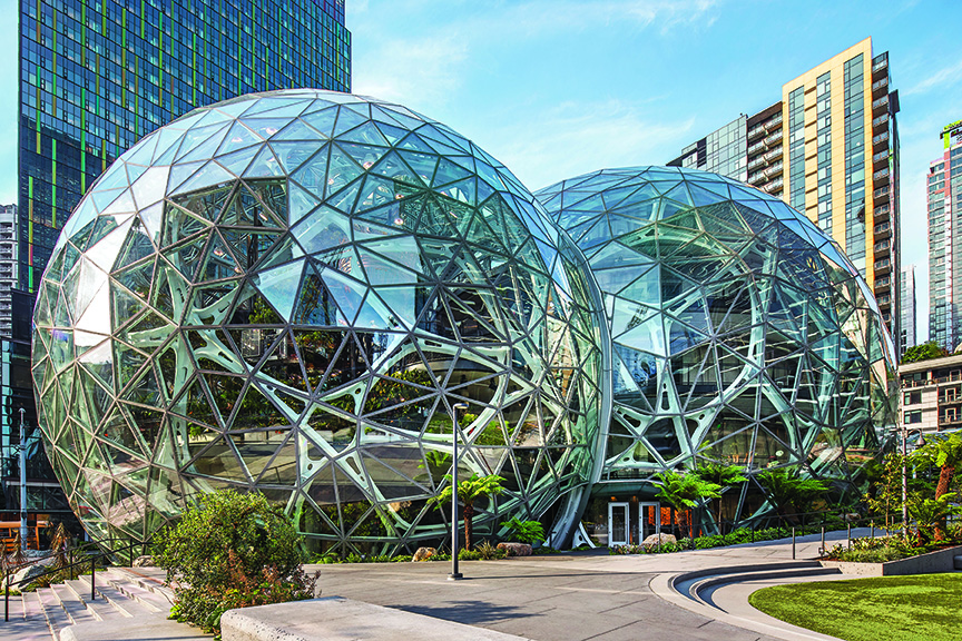Amazon Spheres in Seattle