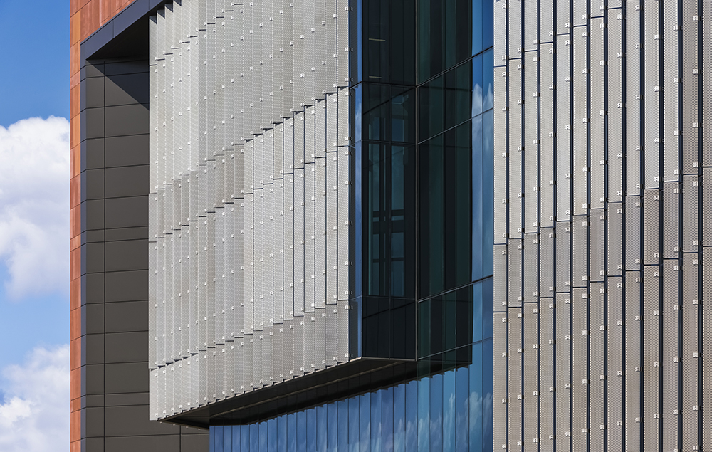 Rutgers Nursing and Science Building Location: Camden, New Jersey, Architect: Perkins Eastman