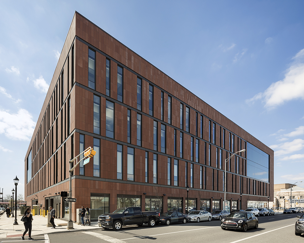 Rutgers Univ-Camden_Nursing and Science Building_Ext Northeast Corner__Copyright Andrew Rugge-Perkins Eastman