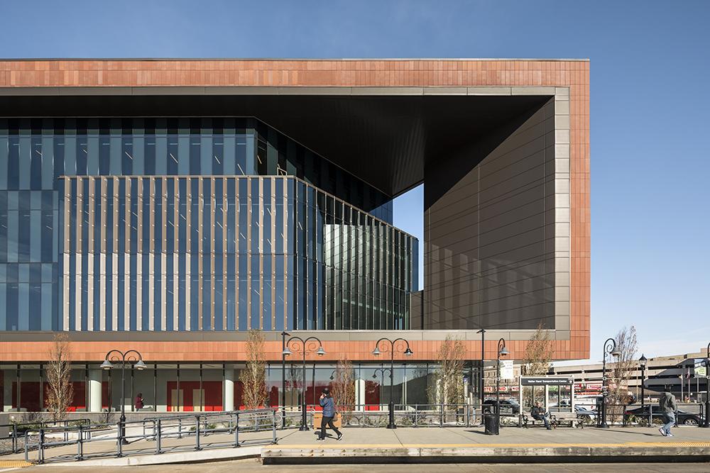 Rutgers Univ-Camden_Nursing and Science Building_Ext Southwest Detail 1__Copyright Sarah Mechling-Perkins Eastman