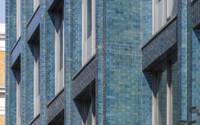 Damien Hirst's future London studio shines with iridescent glazed brick