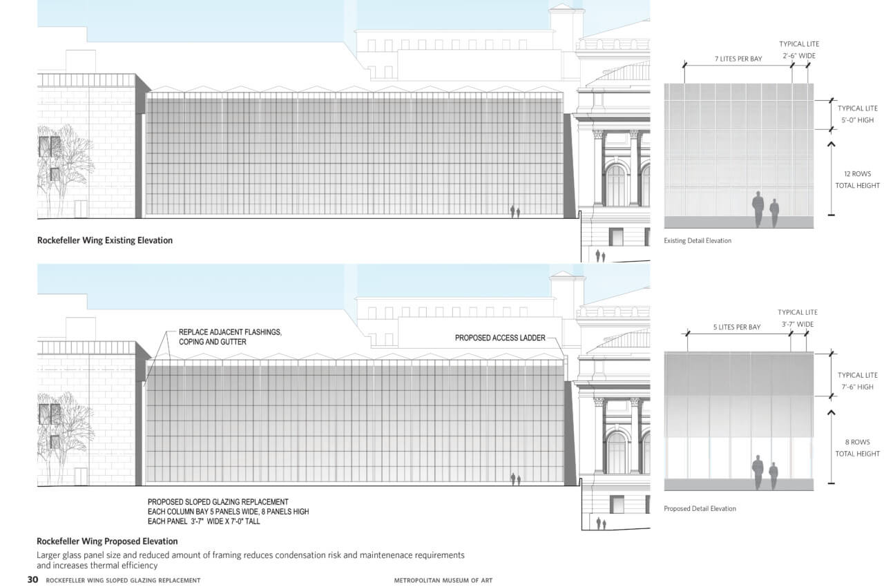 A side by side diagram showing different wall options