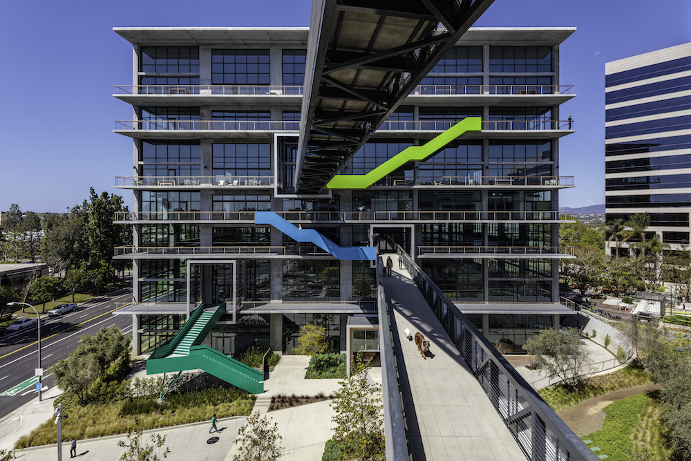 An exterior photograph of Gensler's C3 project