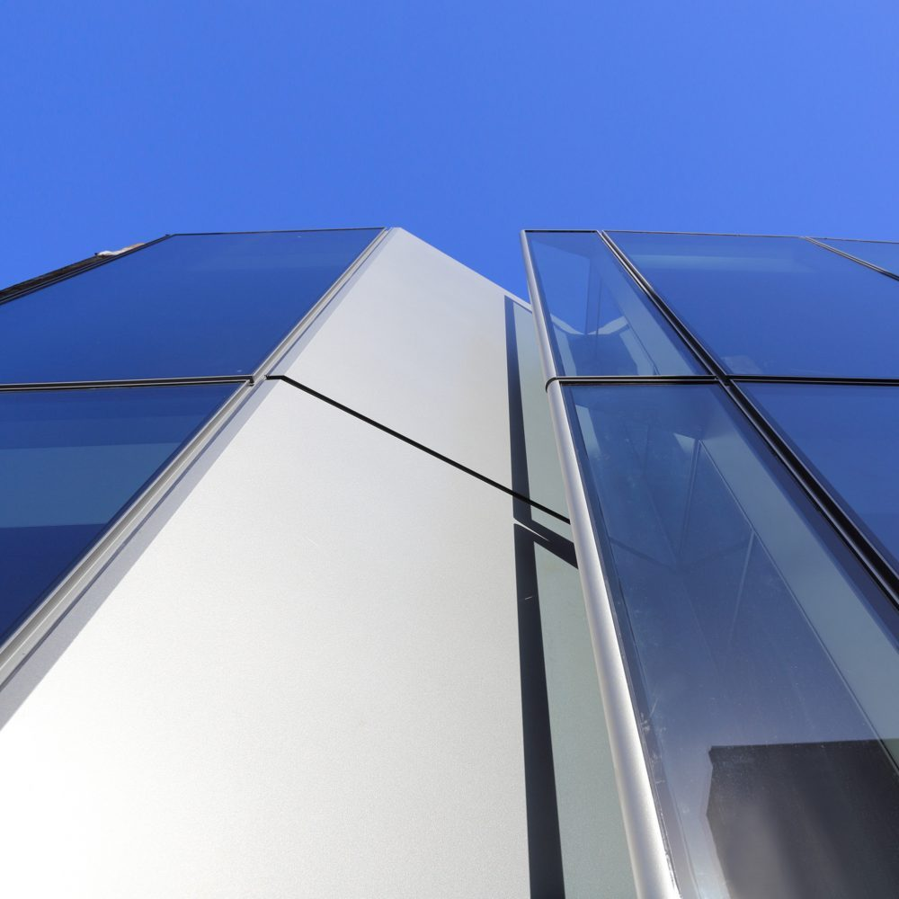 Detail of curtain wall module