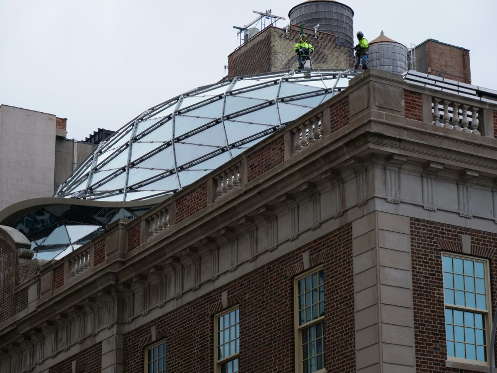 BKSK and BuroHappold crown Tammany Hall with a glass shell