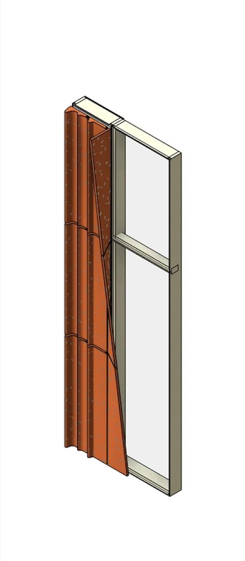 diagram of facade panel shading