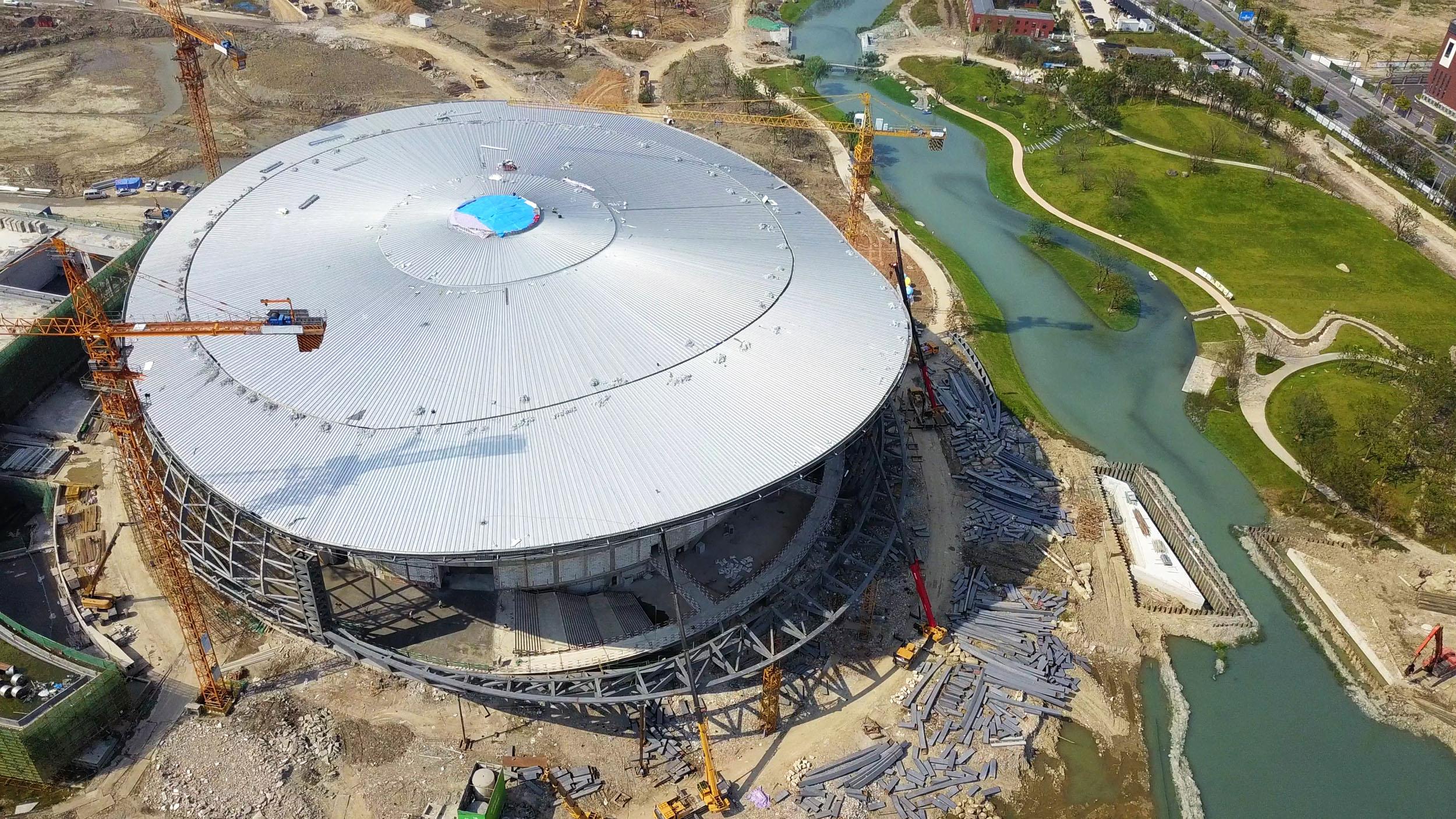 Table Tennis Stadium – Construction