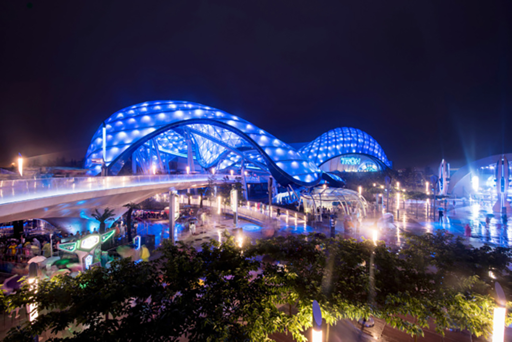 A skin for the spectacular? It has to be ETFE.
