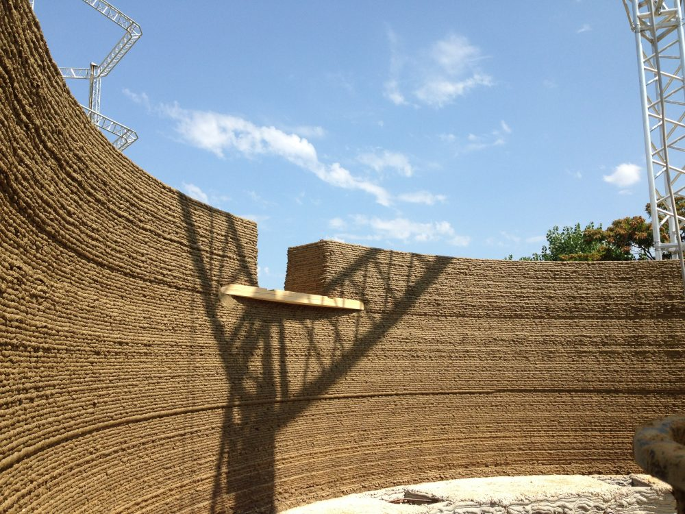 3D printed house_Gaia_WASP_earth wall